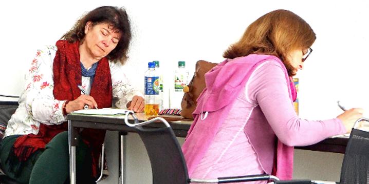 Seminar-Teilnehmerinnen schreiben, 2017