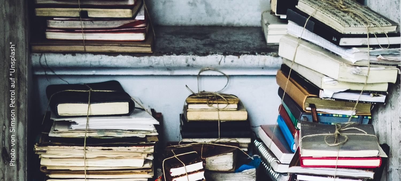 Notizbüchersammlung