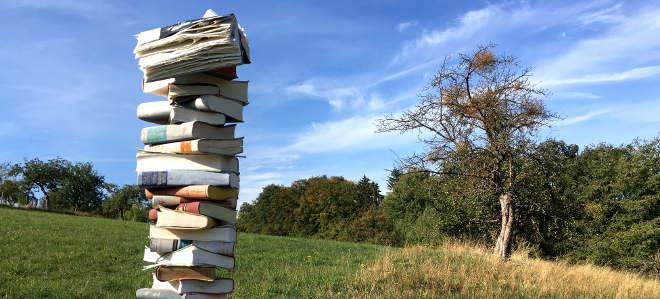 Bücherbaum. Fragen zu Memoiren.